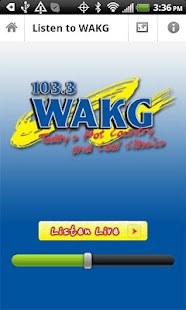 WAKG 103.3 - screenshot thumbnail