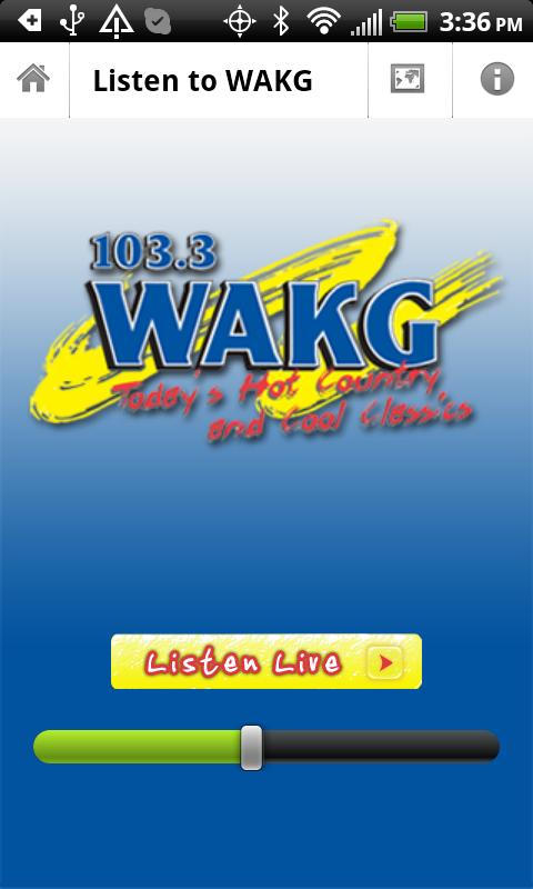 WAKG 103.3 - screenshot