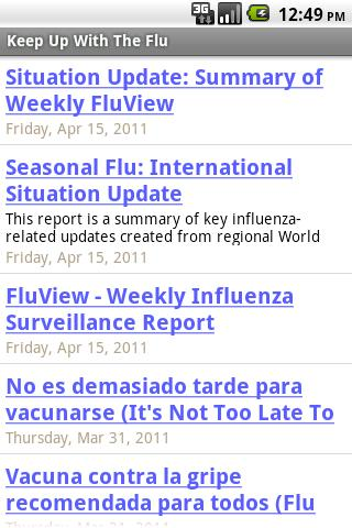 Keep Up With The Flu- screenshot