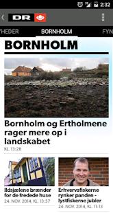 DR Nyheder - screenshot thumbnail