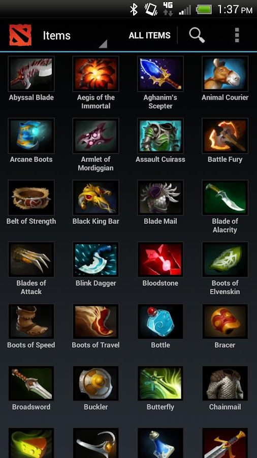 DOTApedia Free for DOTA 2 - screenshot