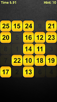 Screenshot of Touch The Numbers