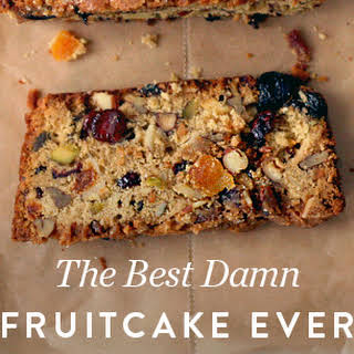 The Best Damn Fruitcake Ever.