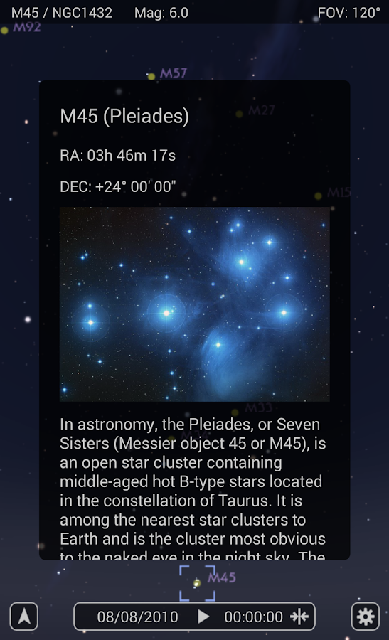 Star Rover - Stargazing Guide- screenshot