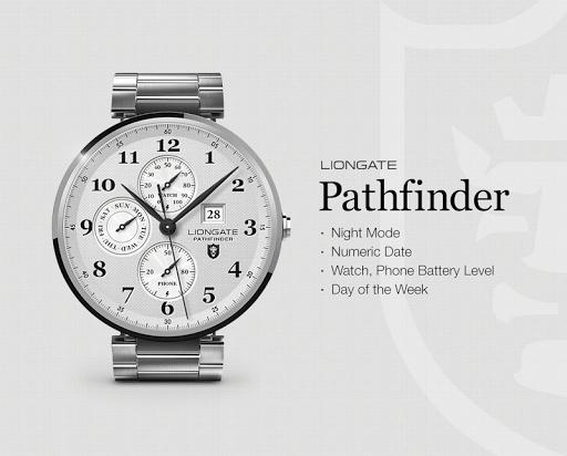 Pathfinder watchface by Lionga