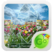 Tulip FIeld GO Keyboard Theme