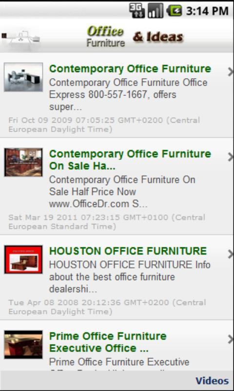 Office Furniture & Design - screenshot