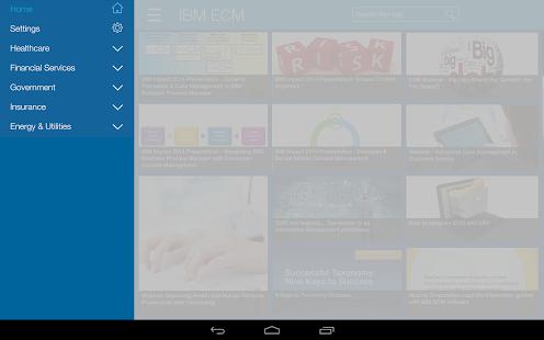 IBM Content Zone - screenshot thumbnail