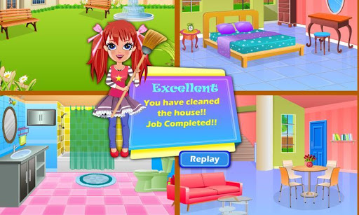 玩免費休閒APP|下載Alice messy house clean up app不用錢|硬是要APP