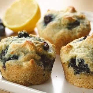 Greek Yogurt Blueberry Muffins.