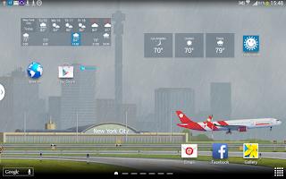 Screenshot of YoWindow Weather
