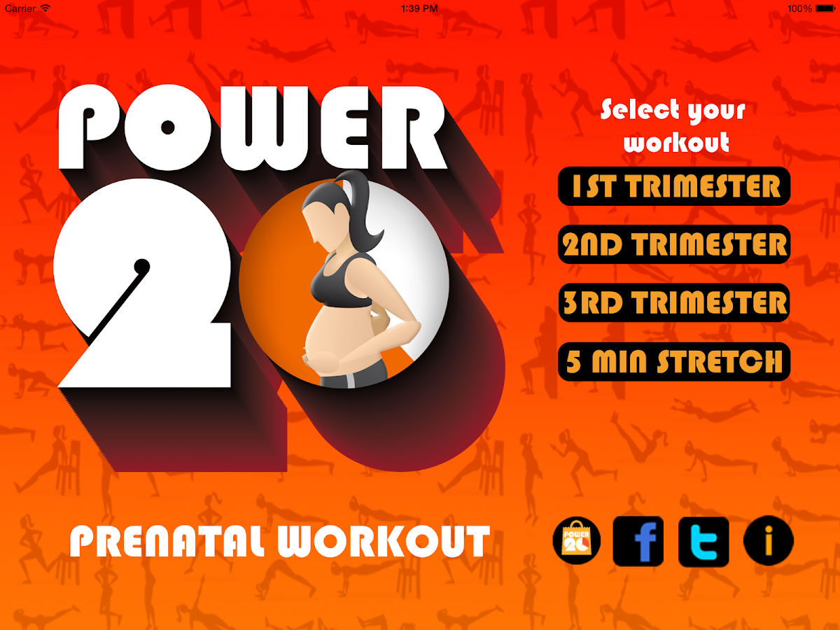 Pregnancy Workouts by Power 20- screenshot