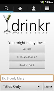 Drinkr: 9,300+ Cocktails - screenshot thumbnail