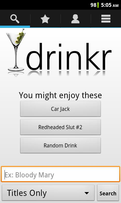 Drinkr: 9,300+ Cocktails - screenshot