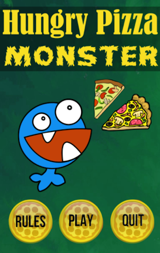 Hungry Pizza Monster