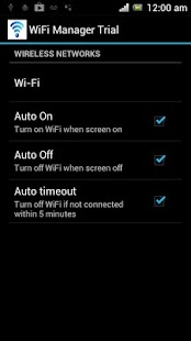 Auto Wifi On Off Switch- screenshot thumbnail