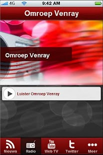 Omroep Venray - screenshot thumbnail