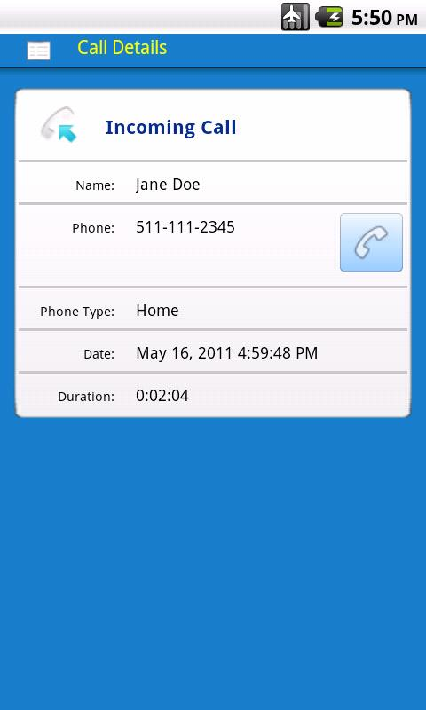 Contacts 3 - screenshot