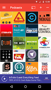 Pocket Casts- screenshot thumbnail