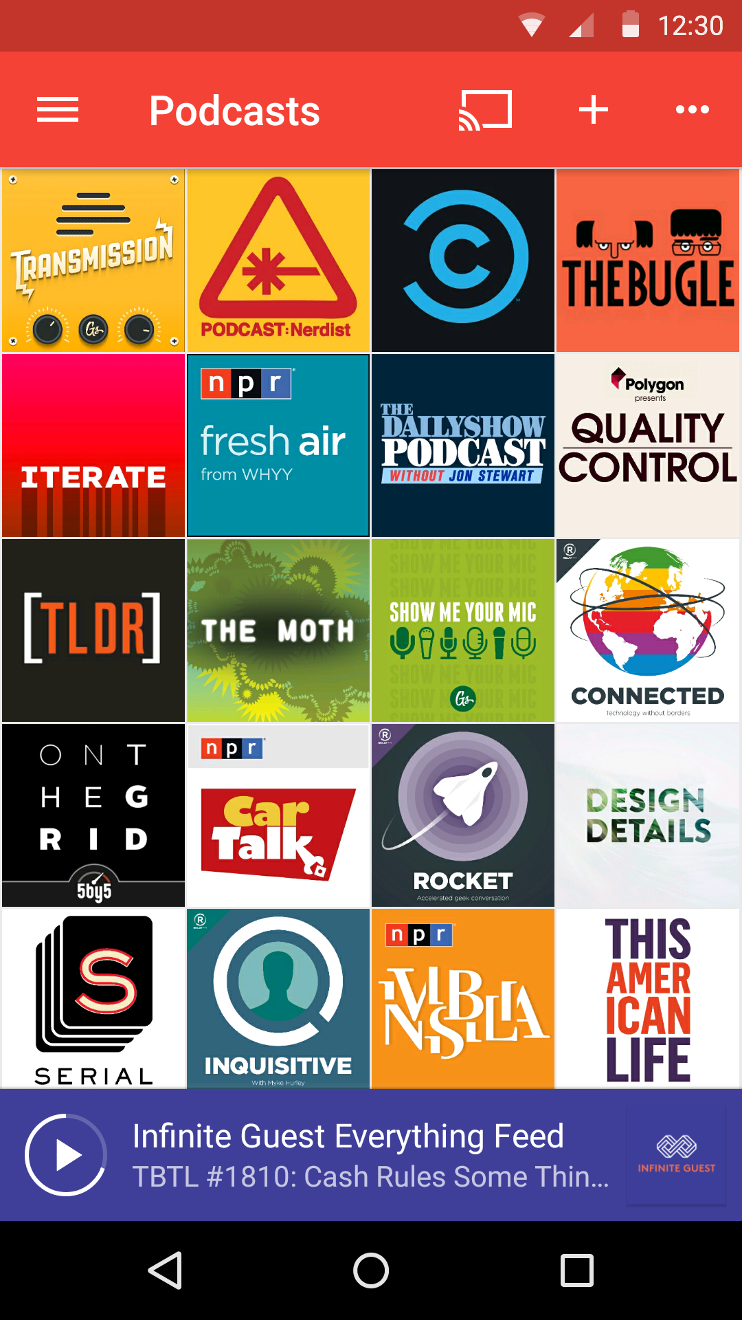 Pocket Casts screenshot #1