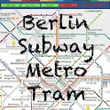 Berlin Subway Tram Map logo