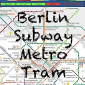 Berlin Subway Tram Map