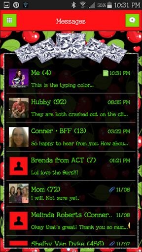 GO SMS THEME - SCS359