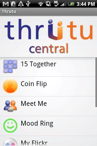 Thrutu- screenshot