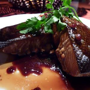 Salmon with Maple Syrup—Teriyaki Style