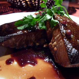Salmon with Maple Syrup—Teriyaki Style.