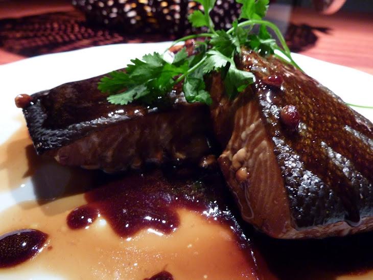 Salmon with Maple Syrup—Teriyaki Style Recipe