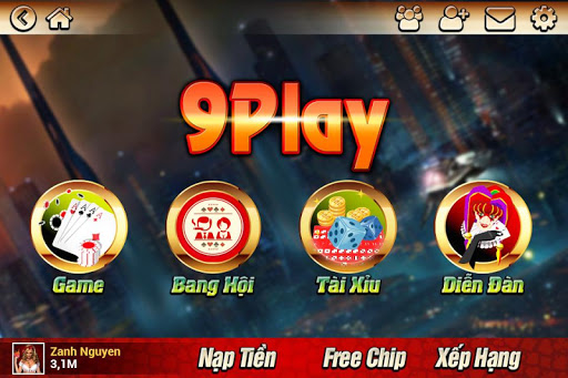9Play Game bai ko can Dang ky