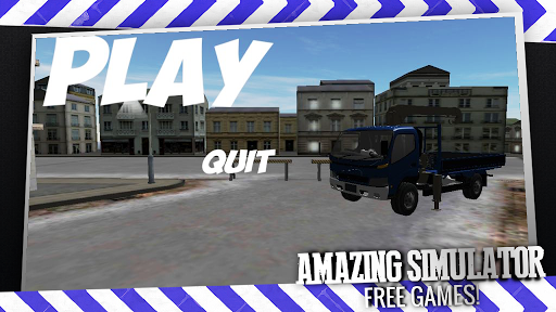 玩模擬App|2014年3D卡車模擬免費|APP試玩