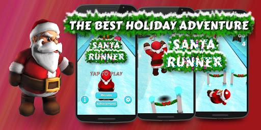 Santa Run 3D Christmas Game
