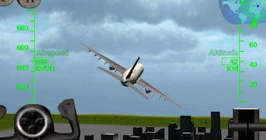 Screenshot of 3D Airplane Flight Simulator