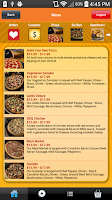 Screenshot of Gattis Pizza