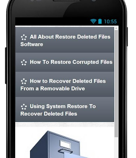 Get Back Deleted Files Tips