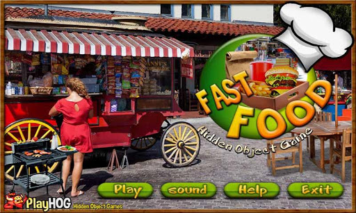 Fast Food - Free Hidden Object