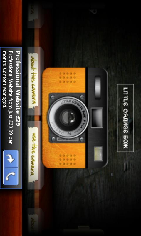 Retro Camera- screenshot