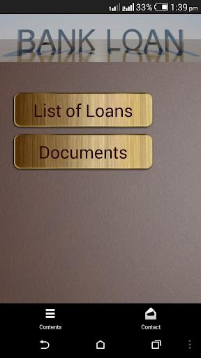 Bank Loan Checklist