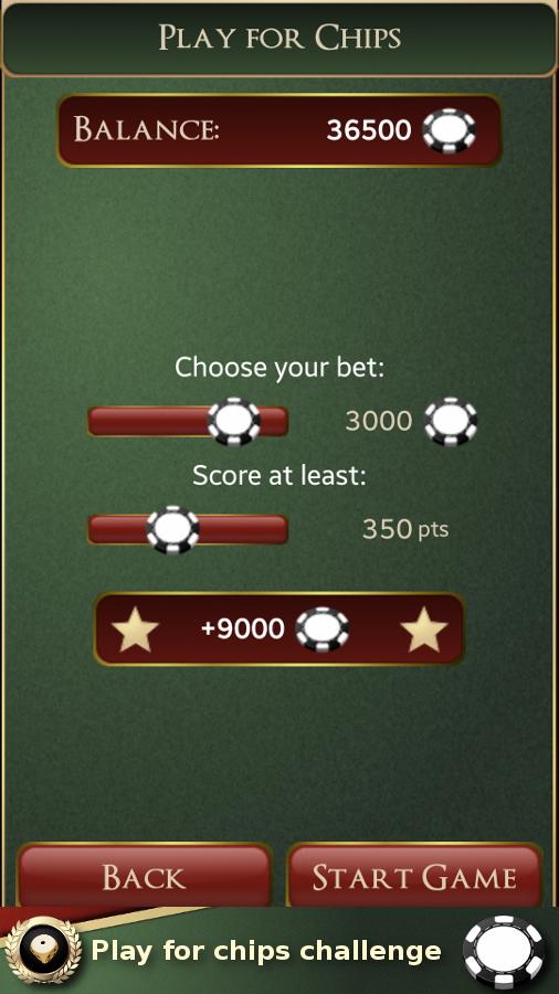 Maxi Yatzy Challenge- screenshot