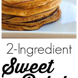 2-ingredient Sweet Potato Cakes {gluten-free, Dairy-free, Nut-free}.