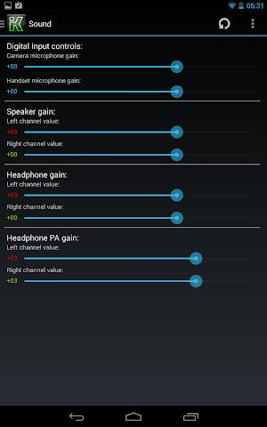 Screenshots for KControl  Full Kernel Control