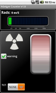 Novelty Geiger Counter - screenshot thumbnail