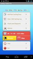 Screenshot of Cycling Tracker Pro