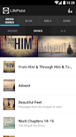 Screenshot of LifePoint Church Vancouver