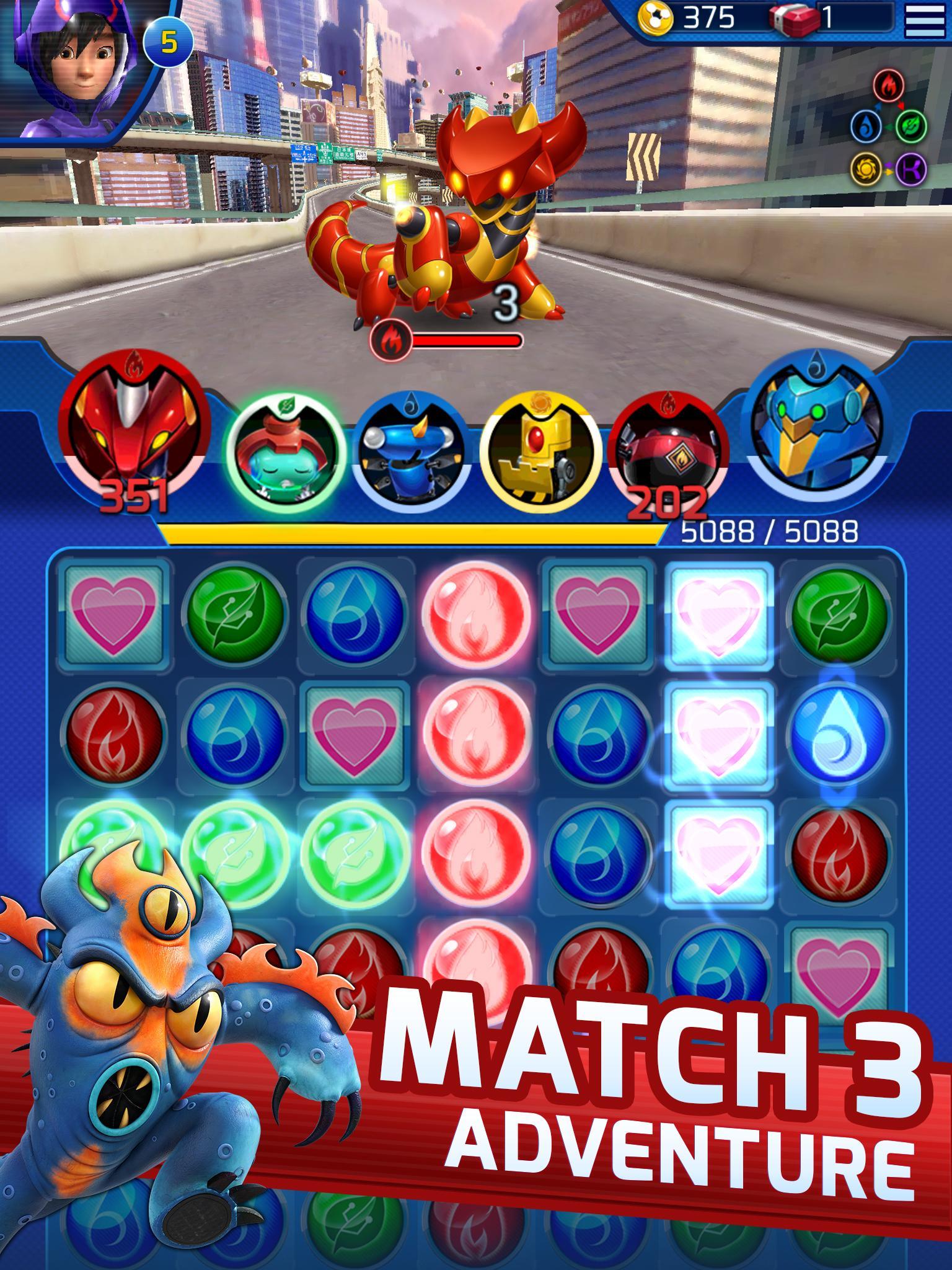 Big Hero 6 Bot Fight screenshot #3