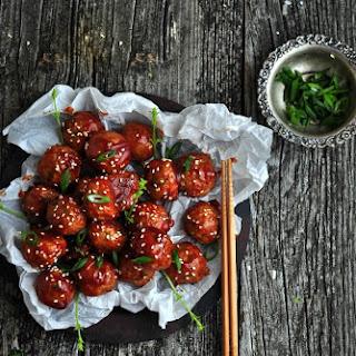 Saucy Asian Sesame Meatballs