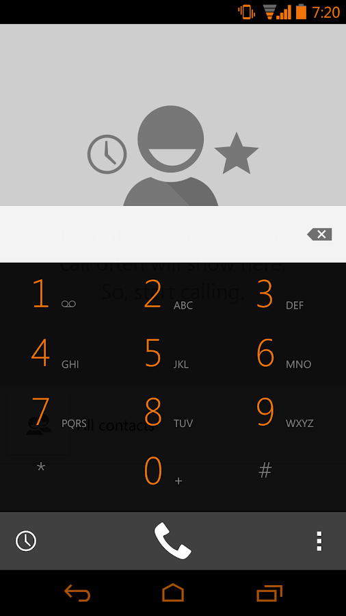 Tangerine CM11 AOKP Theme - screenshot