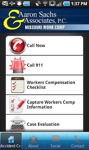 Missouri Work Comp App